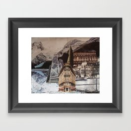 In the Middle of Somewhere Framed Art Print