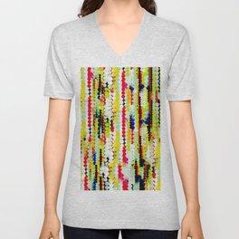 bohemian abstract pattern Unisex V-Neck