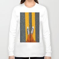 converse Long Sleeve T-shirts featuring Converse Contrast by jyoshimitsuj