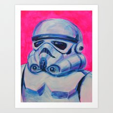 stormtrooper baby Art Print