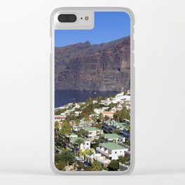 Los Gigantes in Tenerife Clear iPhone Case