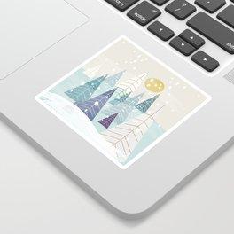 Winter Landscape Sticker