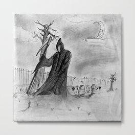 Mourning Metal Print