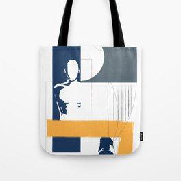 Geometric interactions Tote Bag