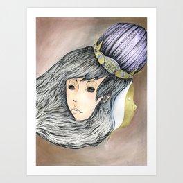 The Golden Child Art Print