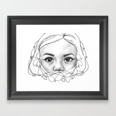 Through a Child's Eyes Framed Art Print