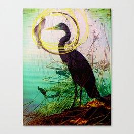The crane series Canvas Print