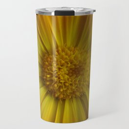 Yellow Aster Travel Mug