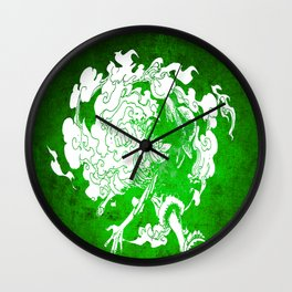 fire luffy Wall Clock