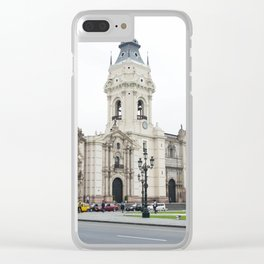 The Beauty of Downtown Lima Clear iPhone Case