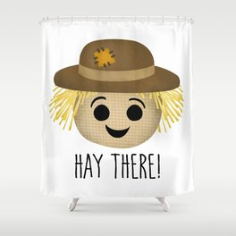 Hay There! Shower Curtain