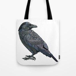 Celtic Raven Tote Bag