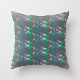 Jungle Dance Floor Throw Pillow