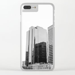 Boston Rooftop Views Clear iPhone Case