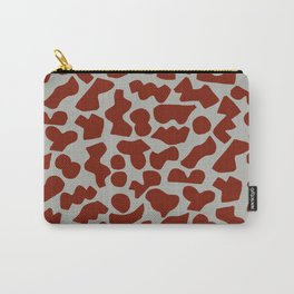 Shapes, Red Carry-All Pouch
