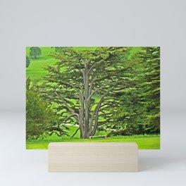 Old English Tree Mini Art Print