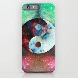 Ying-Yang Galaxy iPhone Case