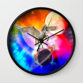 space unicorn. Wall Clock