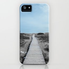 Winter Walkway to Good Harbor Beach - Gloucester, 2013 iPhone Case