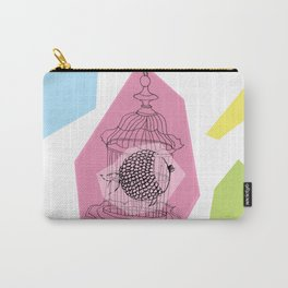 Fishy in Cage Carry-All Pouch