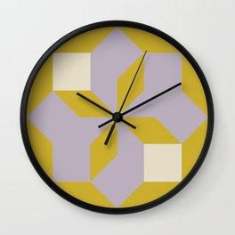 Modern Block #3 Wall Clock