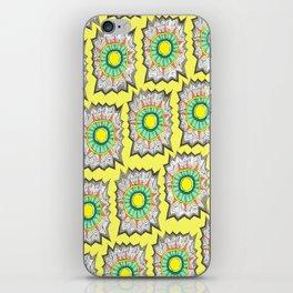Webbed-Yellow iPhone Skin
