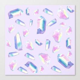 Quartz Pattern - 3 Canvas Print