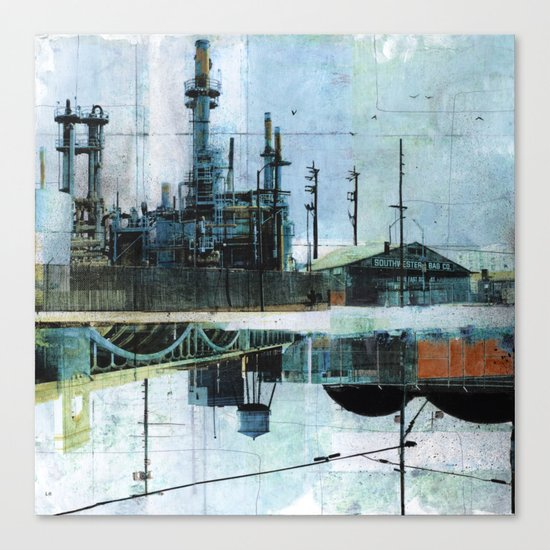 Steel Mecca Canvas Print