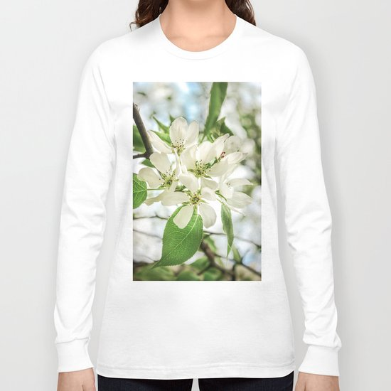the Apple blossoms Long Sleeve T-shirt