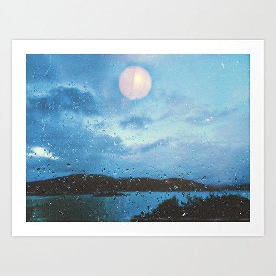 Sea the Moon Art Print