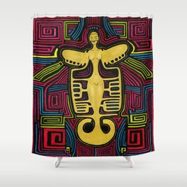 Colombia Art  Shower Curtain