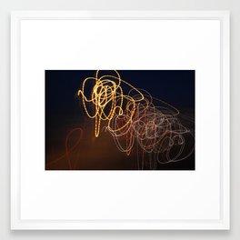 Light Studies V Framed Art Print