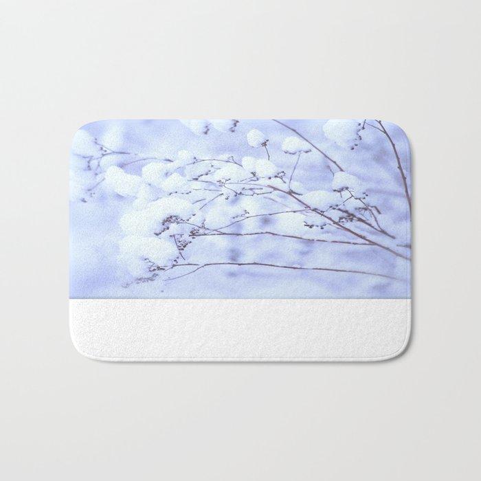 Snowy Softness  Bath Mat