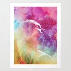 Unrest Art Print