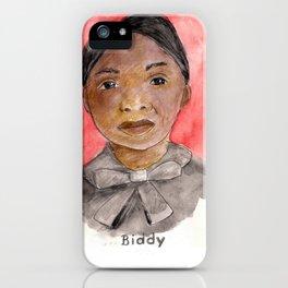 Like a Boss: Biddy Mason iPhone Case