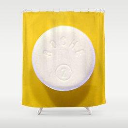 Yellow Rohypnol Shower Curtain