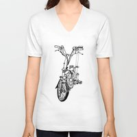 brompton V-neck T-shirts featuring Brompton by Swasky