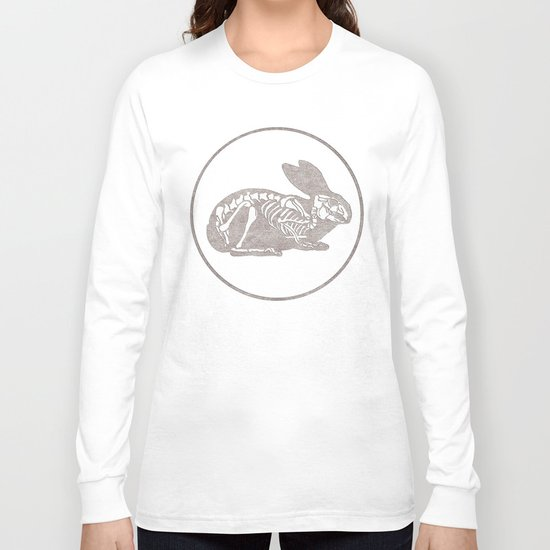 In which a rabbits anatomy is observable  Long Sleeve T-shirt