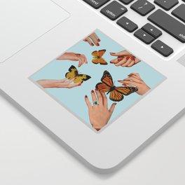 Social Butterflies Sticker