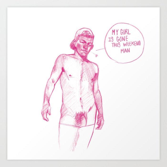 FAG 09 Art Print