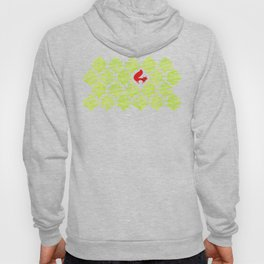 Damask forest pattern Hoody