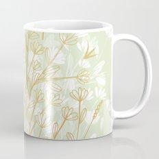 Coockie brown clover on green  Mug