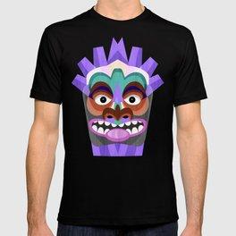Tribal Tiki Mask T-shirt