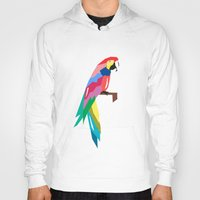 parrot Hoodies featuring parrot by mark ashkenazi