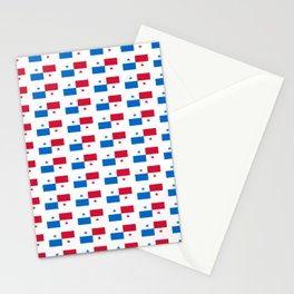 flag of panama 2 -Panama,Panamanian,canal,spanish,San Miguelito,Tocumen,latine,central america,panam Stationery Cards