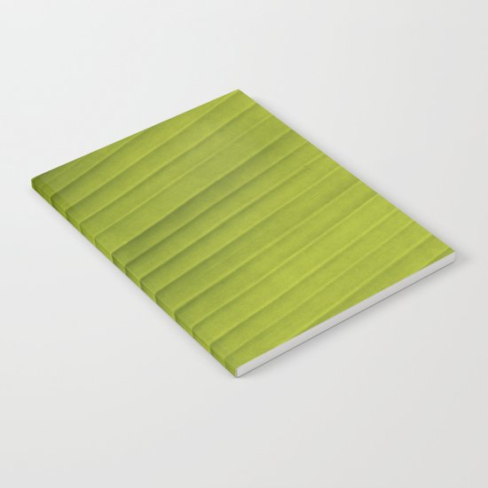 Banana Leaf IV Notebook