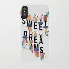 Sweet Dreams iPhone X Slim Case