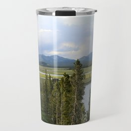 Yellowstone River Valley View Travel Mug