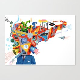 """""""What Searchable Speech Will Do To You"""" by Christian Northeast for Nautilus Canvas Print"""