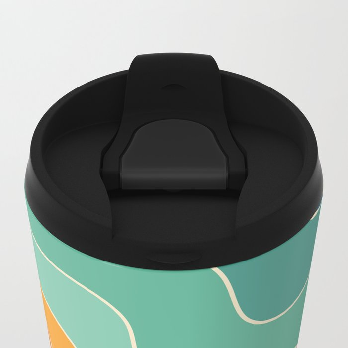 Keep Think Creative Metal Travel Mug
